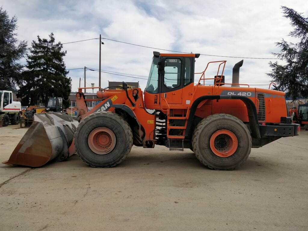 Used Wheel loader DOOSAN (DAEWOO) DL420 for public works