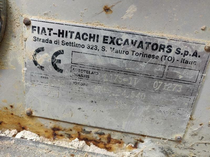 Track loader FIAT HITACHI FL175 - Codimatra<br />