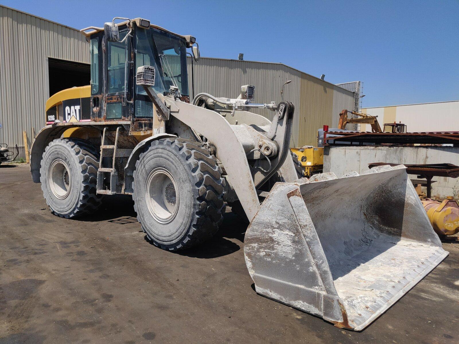 Wheel loader CATERPILLAR 928G - Codimatra<br />