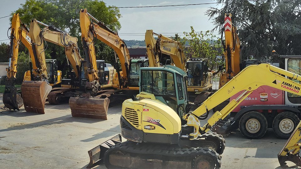 Last arrival of machines available for sale at Codimatra !