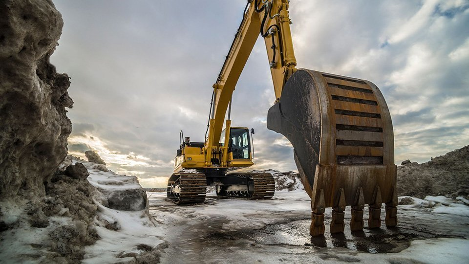The effects of cold on your construction machine