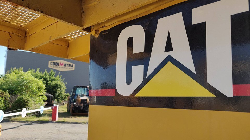 Caterpillar to be deconstructed or sold at Codimatra !