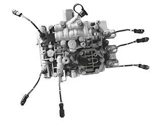 Transmission distributor for CATERPILLAR 963C