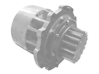 Rotation reducer for MECALAC 12MTX