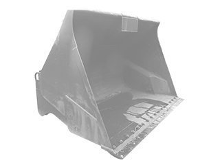 High dump bucket for LIEBHERR L524