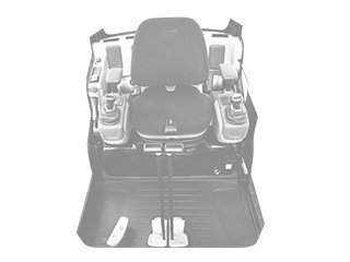 Cabin floor for VOLVO EC210B