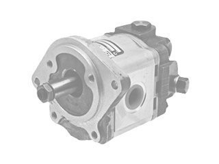 Auxiliary hydraulic pump for POCLAIN 90CK