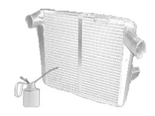 Oil cooler for CASE CX225SR