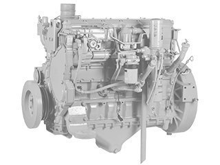 Diesel engine for LIEBHERR L534
