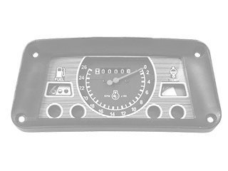 Dashboard for VOLVO EC160