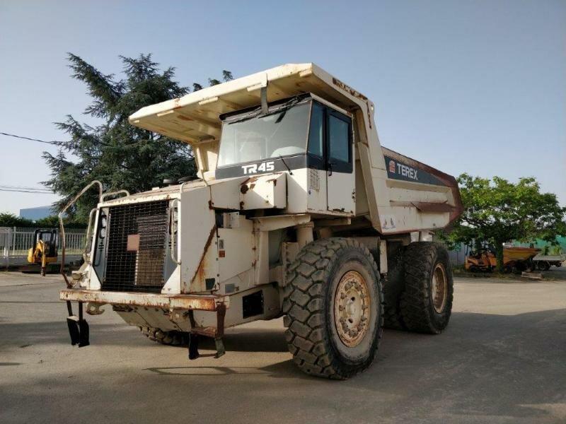 Rigid dump truck TEREX TR 45
