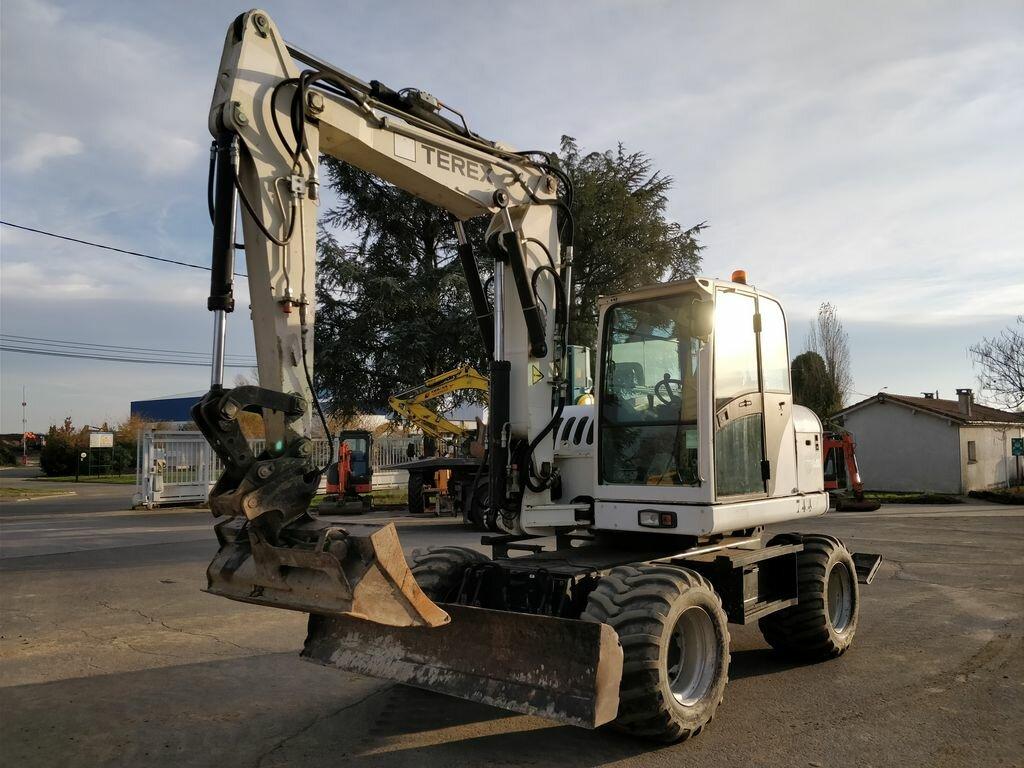 Wheel excavator TEREX TW110