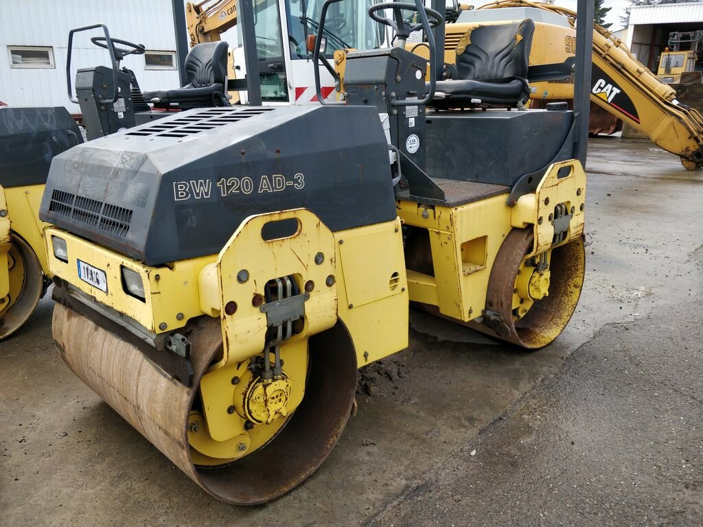 Tandem rollers BOMAG BW120AD3