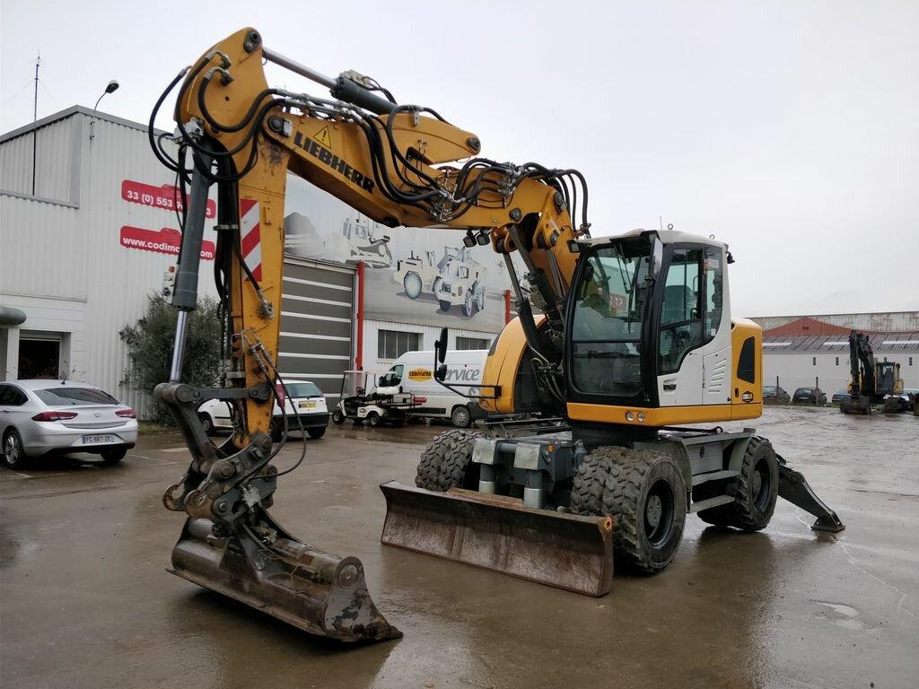 Wheel excavator LIEBHERR A914 COMP