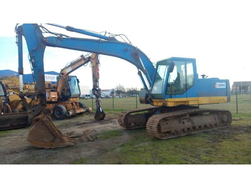 Tracks excavator CASE 1188