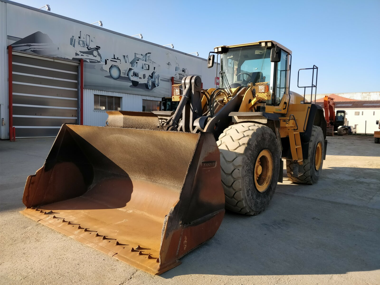 Wheel loader VOLVO L150G