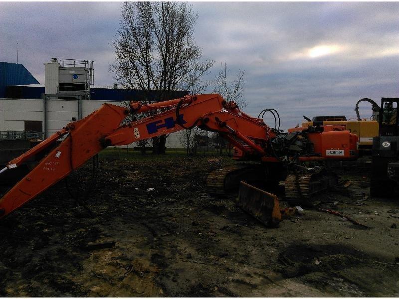 Tracks excavator FIAT HITACHI EX215