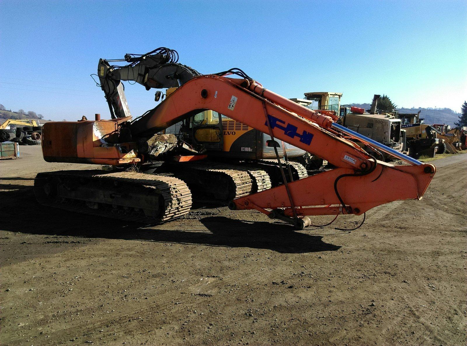 Tracks excavator FIAT HITACHI EX165