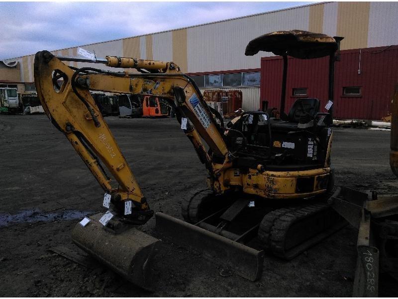 Mini excavators on tracks KOMATSU PC26MR-3