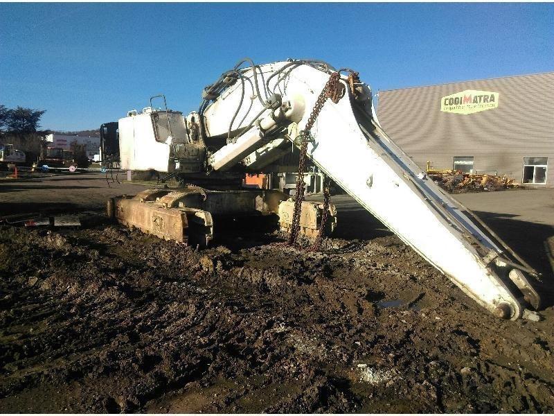 Tracks excavator LIEBHERR R954CSHD