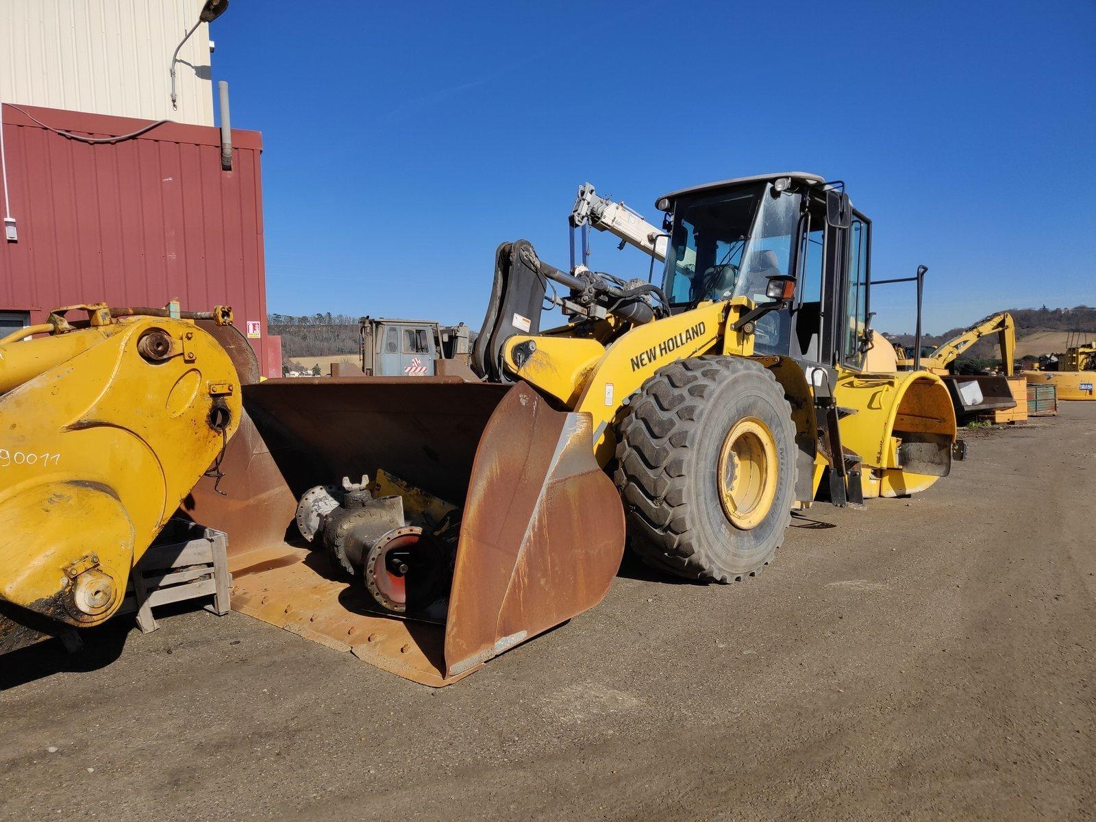 Wheel loader NEW HOLLAND W190B