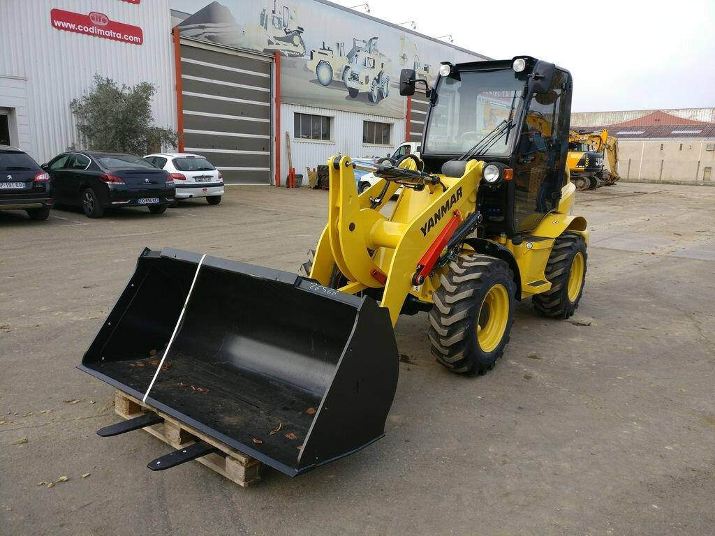 Wheel loader YANMAR V8