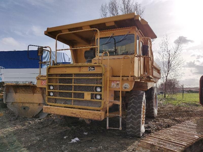 Rigid dump truck EUCLID R35