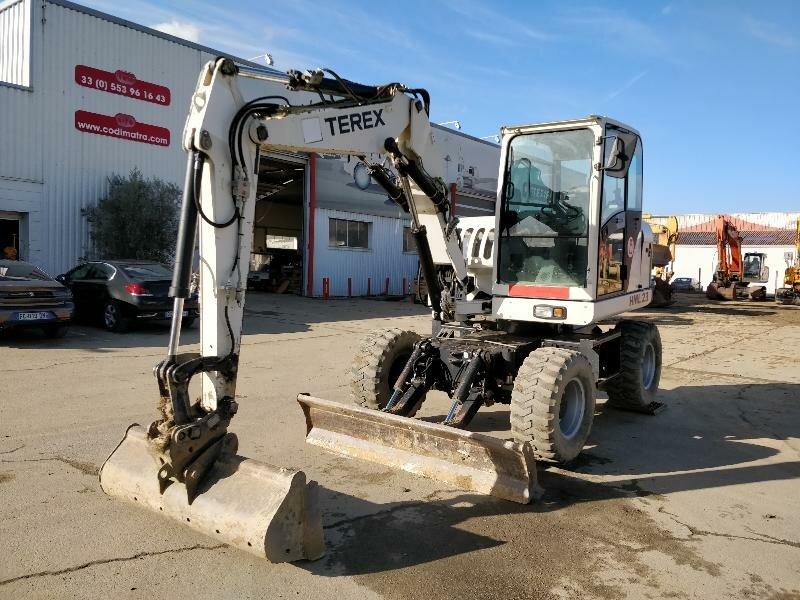 Wheel excavator TEREX HML23