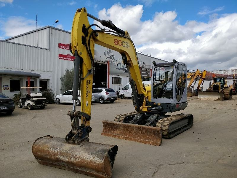 Mini excavators on tracks NEUSON 8003