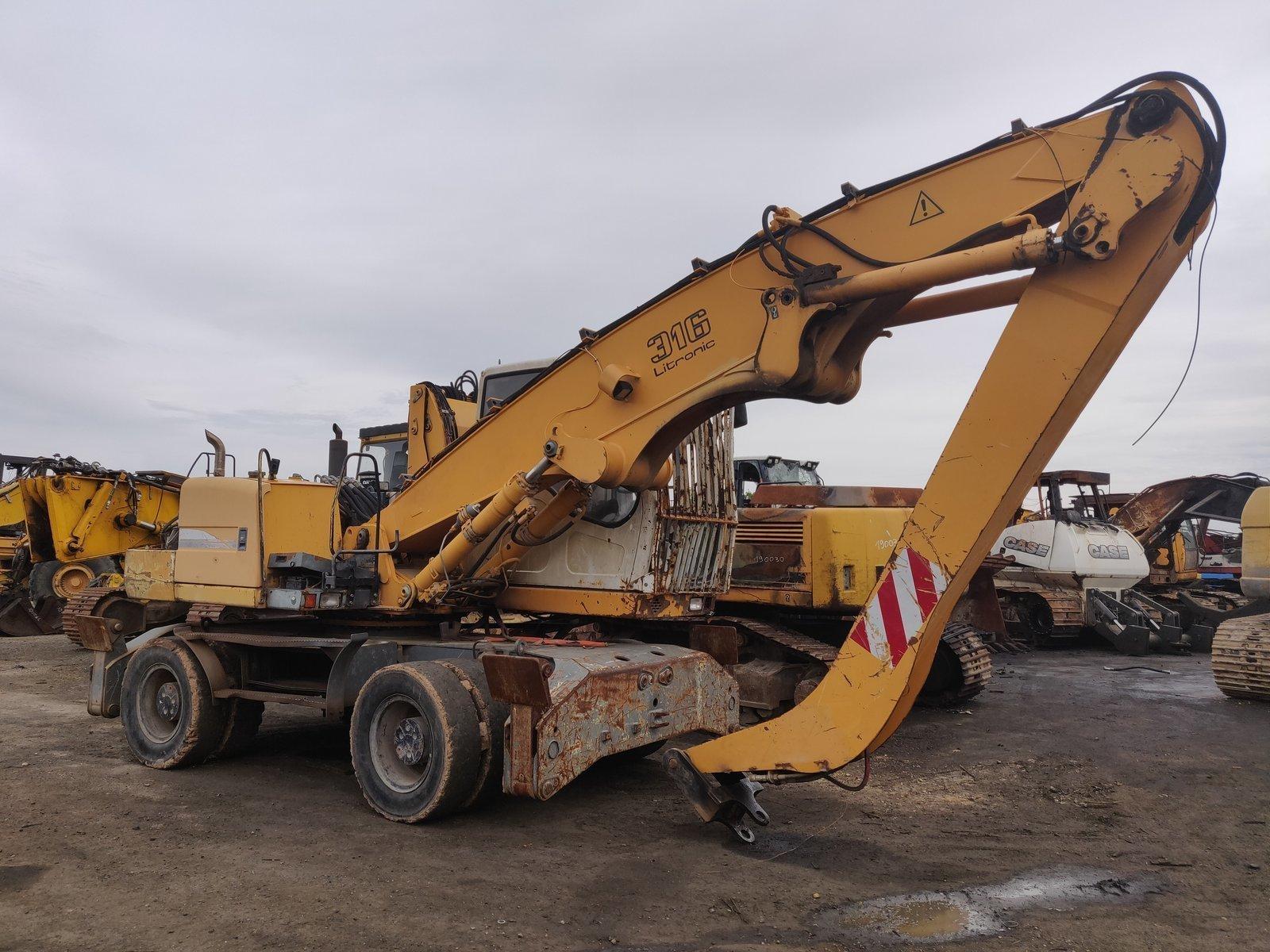 Wheel excavator LIEBHERR A316