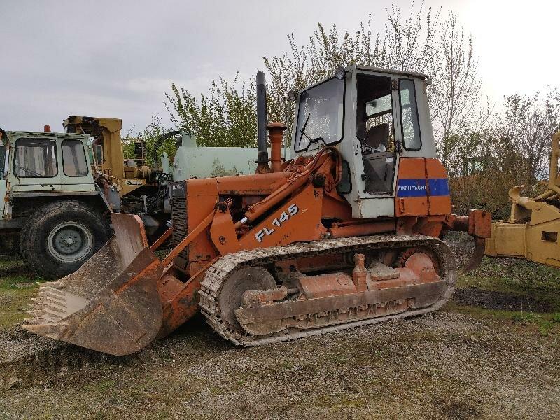 Track loader FIAT HITACHI FL145