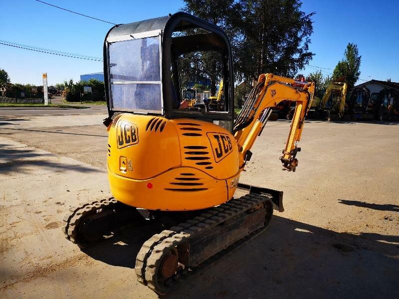 Mini excavators on tracks JCB 8025ZTS