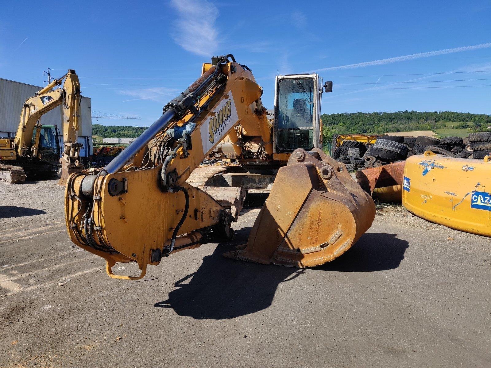 Tracks excavator LIEBHERR R934BHDSL