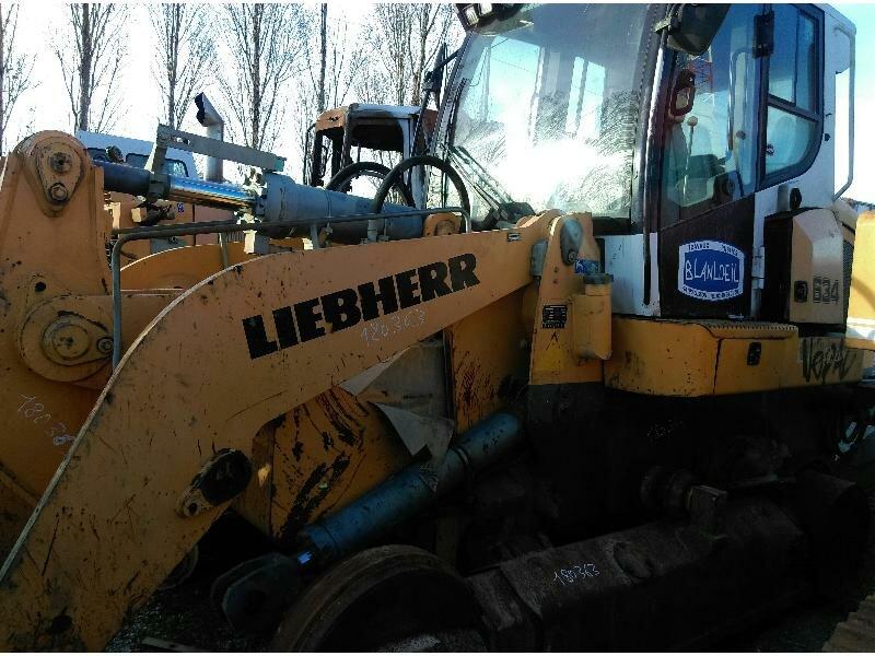 Arm for LIEBHERR LR634