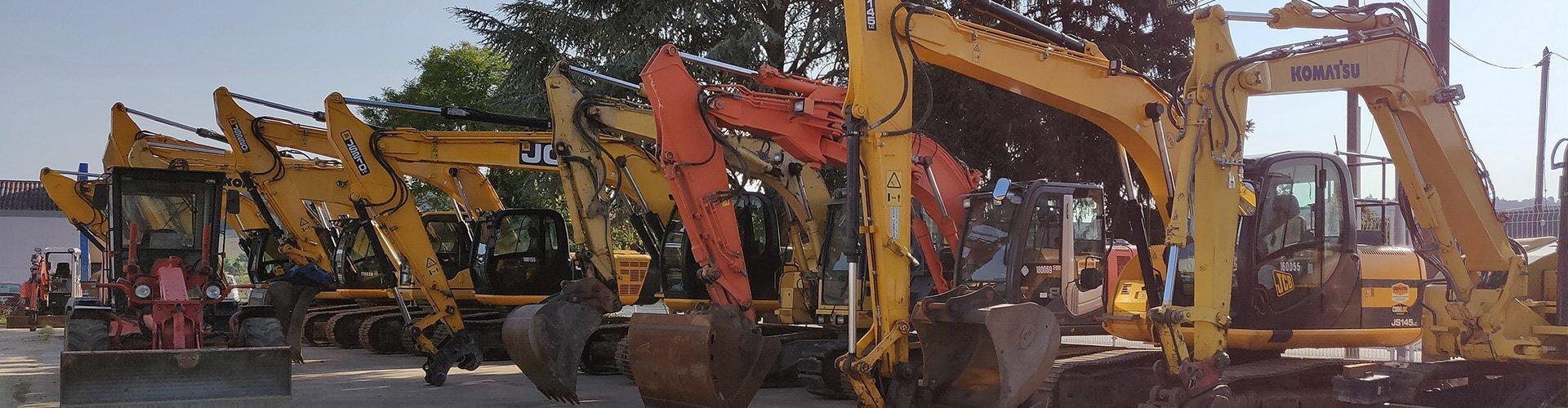 Excavators used on sale