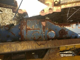 Axle for LIEBHERR L508P