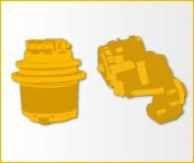 Wheel reducer for VOLVO L70