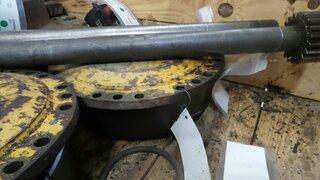 Wheel reducer for HANOMAG 44C