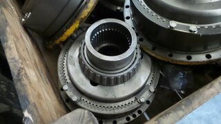 Wheel reducer for BELL B25B