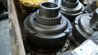 Wheel reducer for BELL B30C