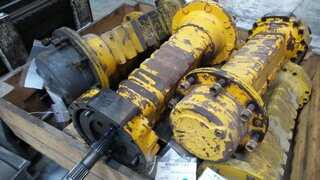 Wheel reducer for MECALAC 11CX