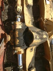 Differential rear axle for CASE 688PB
