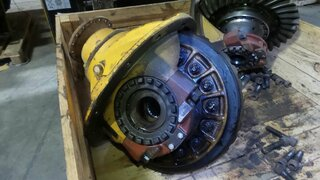 Differential rear axle for VOLVO A35