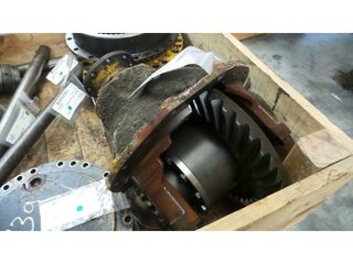 Differential rear axle for HANOMAG 55C