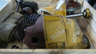 Differential rear axle for BELL B25B