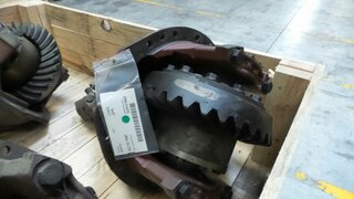 Differential rear axle for TEREX 2566