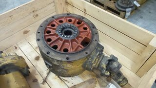 Differential rear axle for O&K F105