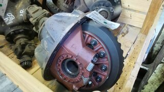 Differential rear axle for POCLAIN LY80