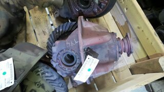 Differential rear axle for POCLAIN TY45