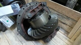 Differential rear axle for TEREX 2366